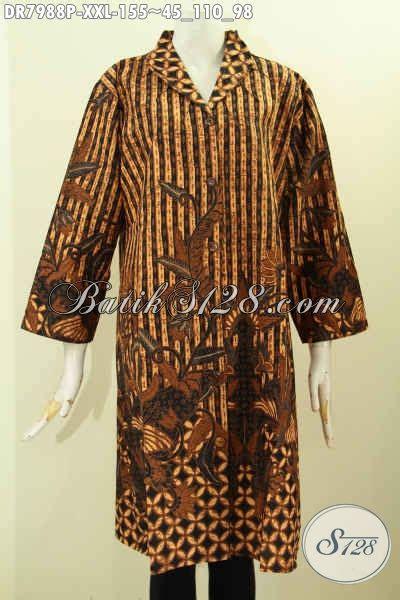 contoh batik muslimah contoh baju batik muslim wanita kantor 2016 kumpulan contoh