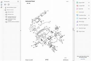 Factory Workshop Service Repair Manual Nissan Maxima 2000
