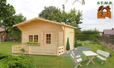 kit chalet bois sans permis de construire 20 m2 avec mezzanine