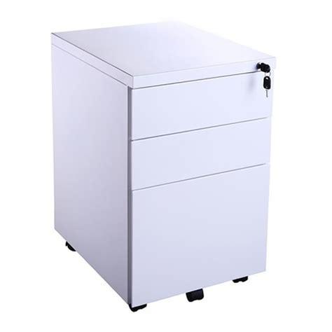 white pedestal desk with drawers 3 drawer metal slim white mobile oi desk pedestal range