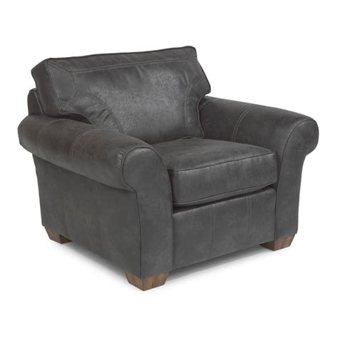 flexsteel n7305 10 vail nuvoleather chair discount furniture at hickory park furniture galleries