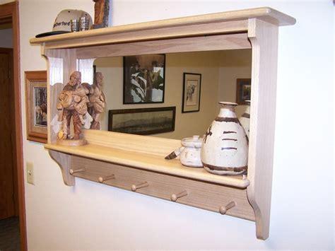 shelf coat rack mirror combo  jm  lumberjocks