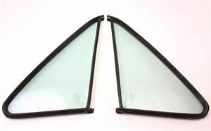 Non Vented Door Quarter Window Glass  U0026 Seal 75