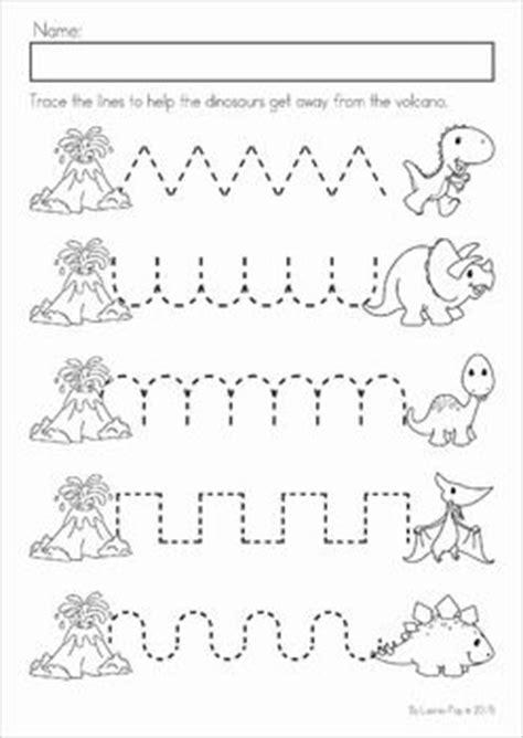 dinosaur preschool no prep worksheets activities