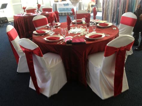 white chair cover and sash chaircovers chaircover