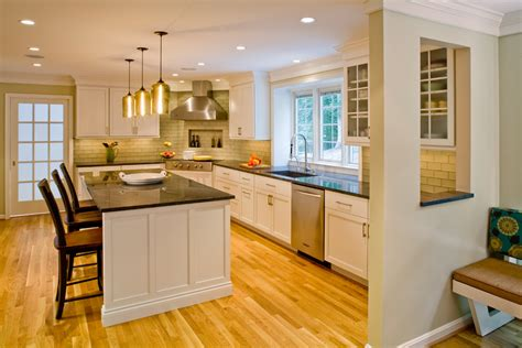 colored cabinets in kitchen kitchen remodeling additions potomac maryland md 8555
