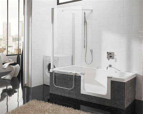 Bath Shower Combo by Walk In Tubs And Showers Combo Awesome Design With Stylish
