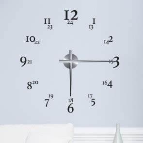 Wandtattoo Weltkarte Uhr : wandtattoo uhren f r dein zuhause ~ Sanjose-hotels-ca.com Haus und Dekorationen