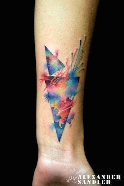 visually stunning watercolor tattoos