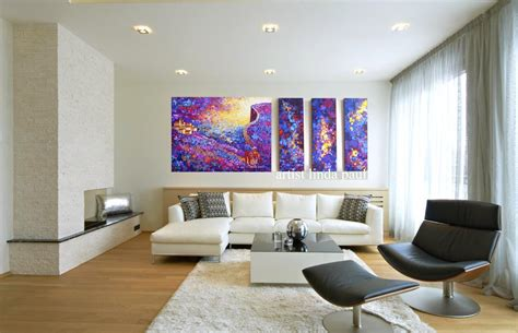 Modern Art For Living Room : 20 Stunning Living Rooms With Artwork