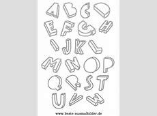 Buchstaben kostenlose Buchstaben Ausmalbilder