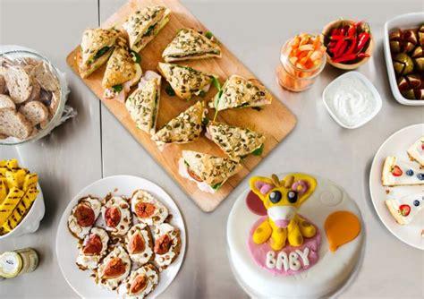 creative baby shower brunch menu ideas lovetoknow