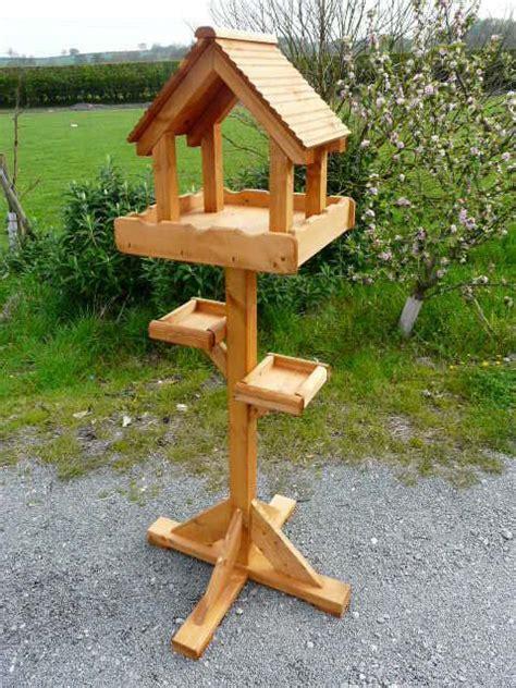 triple bird table wooden bird feeders hanging bird feeders wood bird feeder