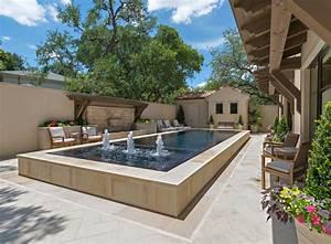 Infinity Edge & Overflow Pools - Mediterranean - Pool