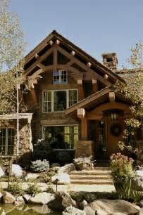 pillar designs for home interiors mountain ranch house rustic exterior denver