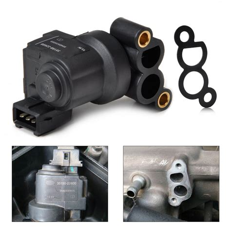 car idle air control valve iac  hyundai accent elantra