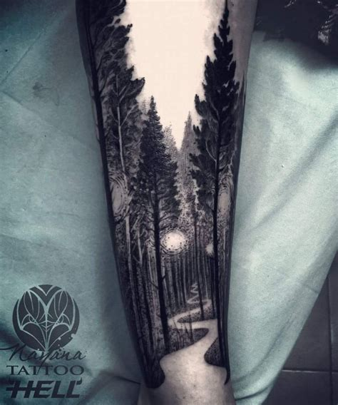ideas  nature tattoo sleeve  pinterest
