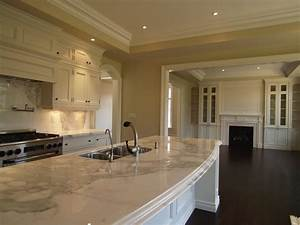 Curved kitchen island design ideas for What kind of paint to use on kitchen cabinets for art for yellow walls