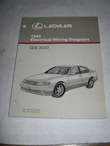 1995 Lexus Gs 300 Wiring Diagram Service Manual Shop Gs300
