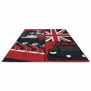 Tapis Noir Et Rouge : tapis noir et rouge id es de d coration int rieure french decor ~ Dallasstarsshop.com Idées de Décoration
