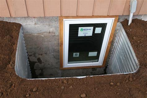 Egress Windows   Windows & Doors   Metal Egress Wells Are