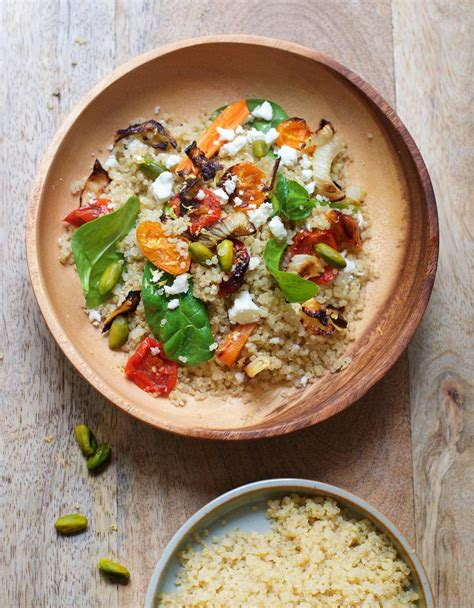 cuisine quinoa quinoa aux légumes et pistaches pour 6 personnes