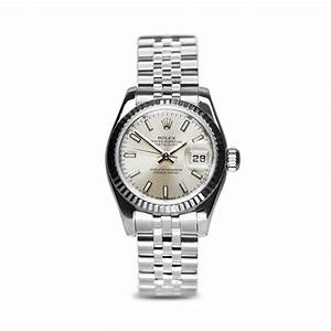 Preowned Rolex Oyster Perpetual Datejust Steel Ladies ...