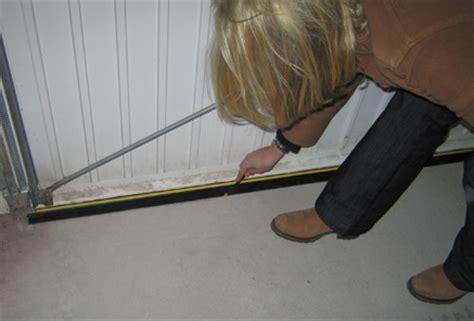 Garage Door Flood Barrier Seal Kit (40mm High)   Weather Stop