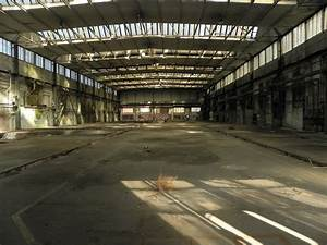 Industrial, Hall, Of, Abandoned, Factory, Free, Image, Download