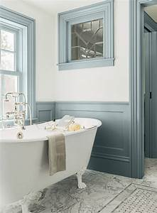 salle de bain coloree 55 meubles carrelage et peinture With kitchen cabinet trends 2018 combined with arte papier peint