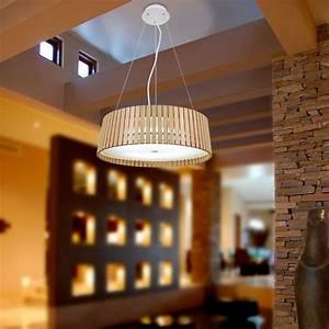 Deckenlampe Selber Machen : holz lampenschirm deckenleuchte ~ Markanthonyermac.com Haus und Dekorationen
