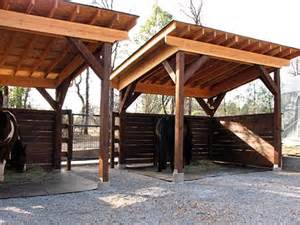 loafing shelter barn loafing sheds run ins pinterest