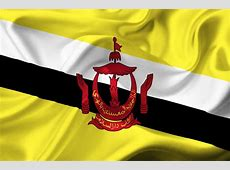 brunei waving flag Map Pictures