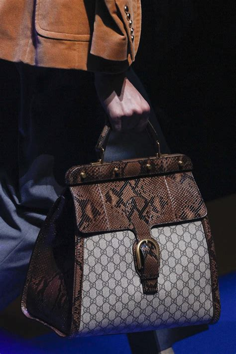 gucci springsummer runway bag collection spotted