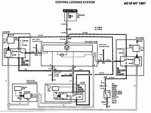 Does Anyone Have A Wiring Diagram For The Central Locking Actuator In The Door Of A R107 Sl  On