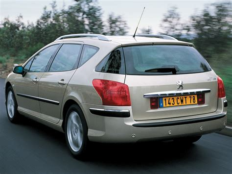 2004 Peugeot 407 Sw Pictures Information And Specs