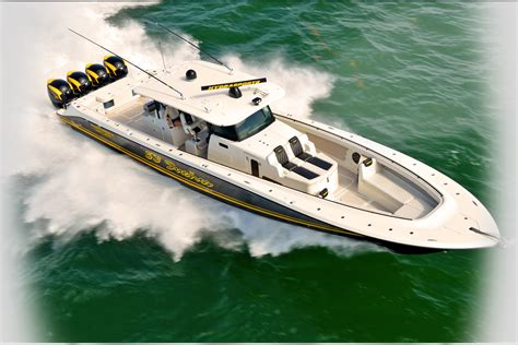 Hydra Sport Fishing Boats by Speed Boat Insanity At Fort Lauderdale More Powerful