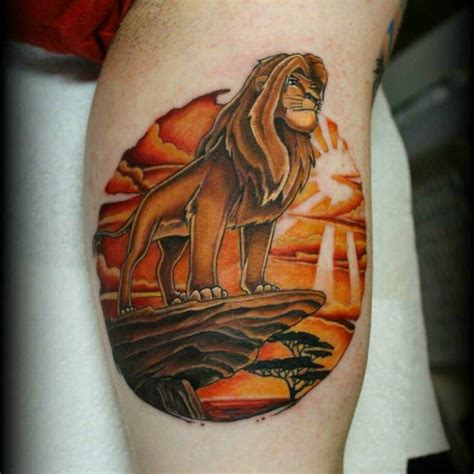 The Lion King Tattoo  Best Tattoo Ideas Gallery