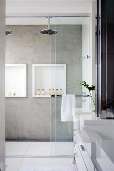 What Are Shower Walls Made Of - bathroom inspiration lark linen