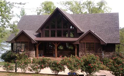 appalachia mountain  frame lake  mountain house plan