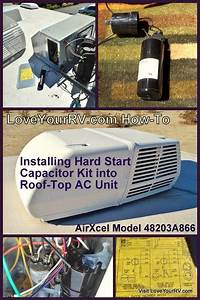 Installing Hard Start Capacitor Into My Rv Air Conditioner