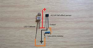 Hall Effect Sensor Wiring Diagram And Test Video
