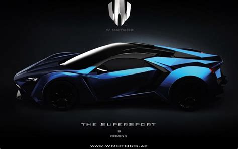 W Motors Plans A Second Supercar Called The Lykan