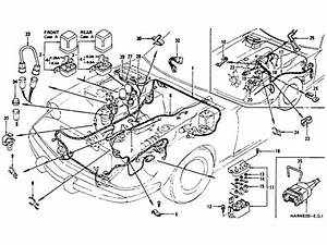 Datsun 510 Wiring Diagram And Cable Harness Schematic Circuit