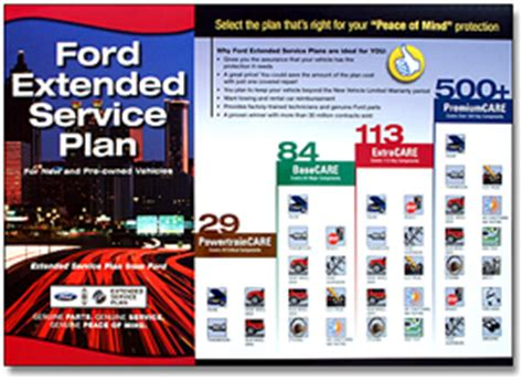 Ford Extended Service Plans   PowertrainCARE, BaseCARE