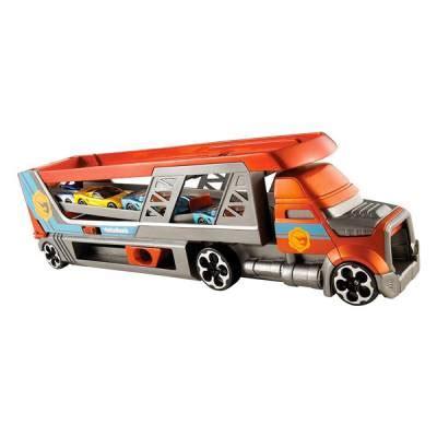 camion porta auto vespoli giocattoli mattel wheels camion porta auto 1 64