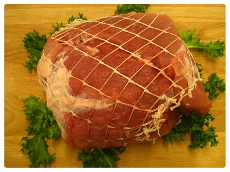 fresh ham roast heffron farms