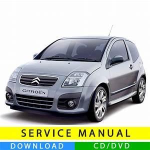Citroen C2 Service Manual  2003
