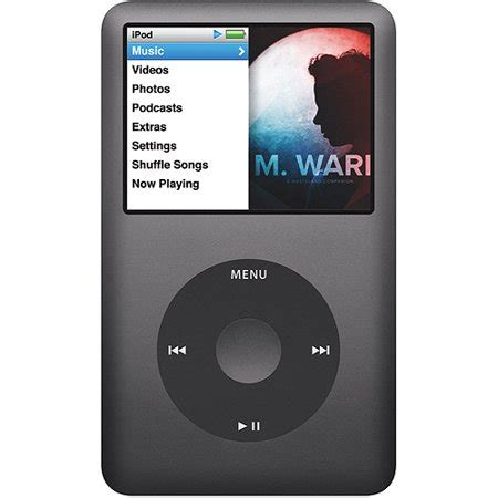 ipod classic 160gb apple ipod classic 160gb 7th black walmart
