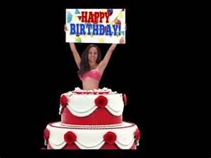 Happy birthday from a sexy lady - YouTube